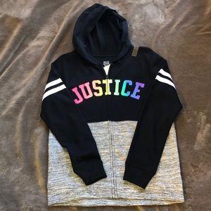 Kids zip up hoodie